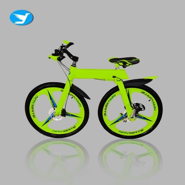 Revolutionary chainless bike powered by tungsten gears and RTS technology comes with zero maintainence