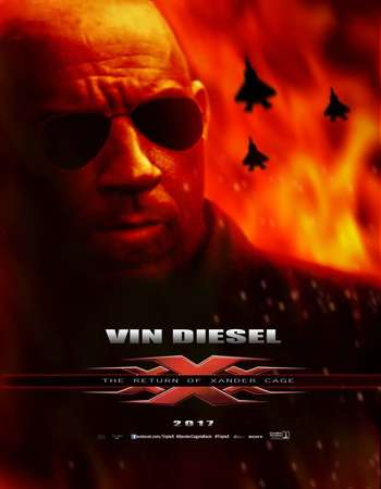 Poster Of xXx: Return of Xander Cage 2017 English 700MB HDCAM x264 Free Download Watch Online downloadhub.net
