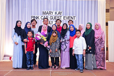 Mary Kay pink Car guest Event