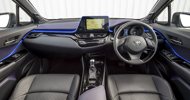 Toyota C-HR dashboard