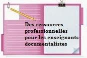 Des ressources professionnelles pour les enseignants-documentalistes
