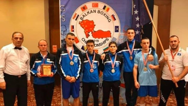 Kosovo boxers with 5 medals in Balkan Championship Antalya 2019