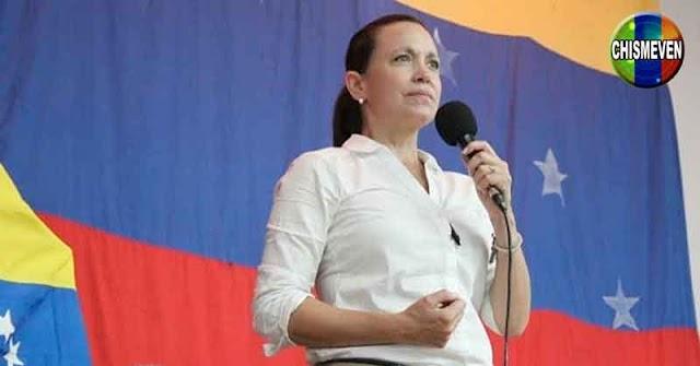 María Corina Machado hasta con el tobo a Guaidó por reconocer al CNE ilegítimo