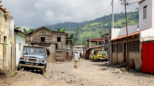Its the remotest village in Sao Tome
