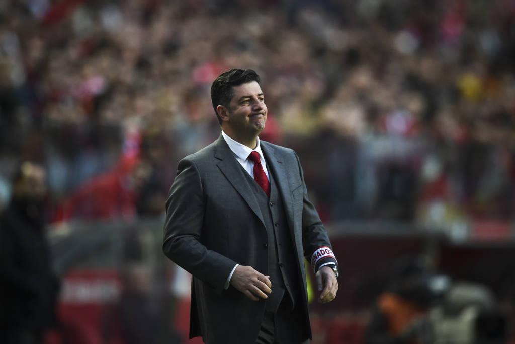 Rui Vitória comanda o Benfica (Foto: Patricia de Melo Moreira/AFP)