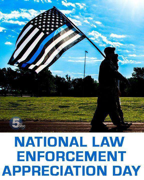National Law Enforcement Appreciation Day Wishes Pics