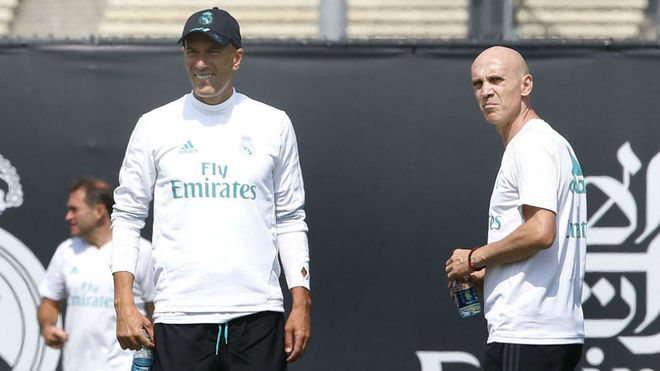 Zidane assistant: LaLiga triumph was due to major training changes