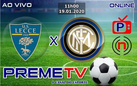 Lecce x Inter de Milão Ao Vivo