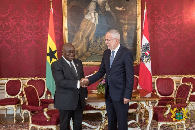 """Ghana Now Austria's Most Important Business Destination In Africa"" – Austrian President"