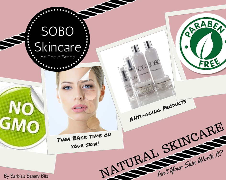 SOBO; A Very Natural Indie Skin Care & A 25% Discount, By Barbie's Beauty Bits
