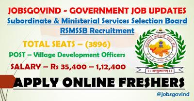 RSMSSB Recruitment 2021