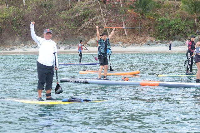 Bupati Trenggalek Ajak Komunitas Stand Up Paddle Eksplorasi Teluk Prigi