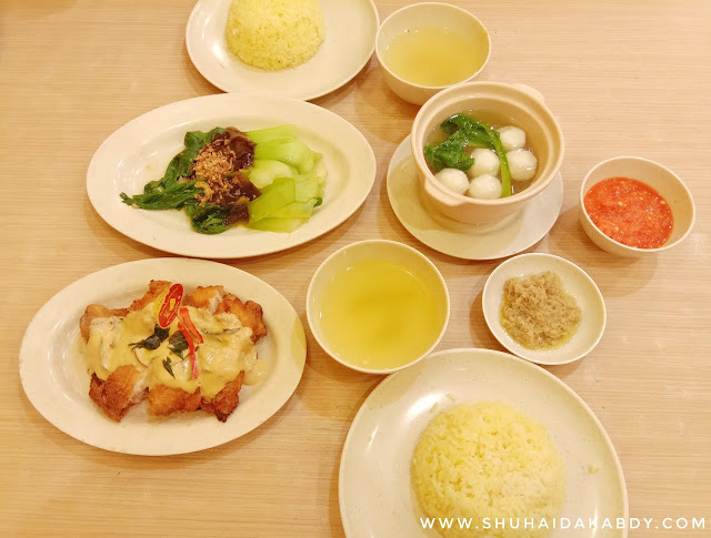 Jom Cuba Grilled Butter Chicken di Chicken Rice Shop