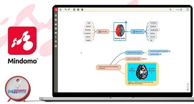 Mindomo, programa para hacer mapas mentales