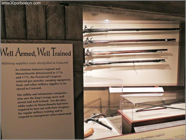Museo Concord: Armas