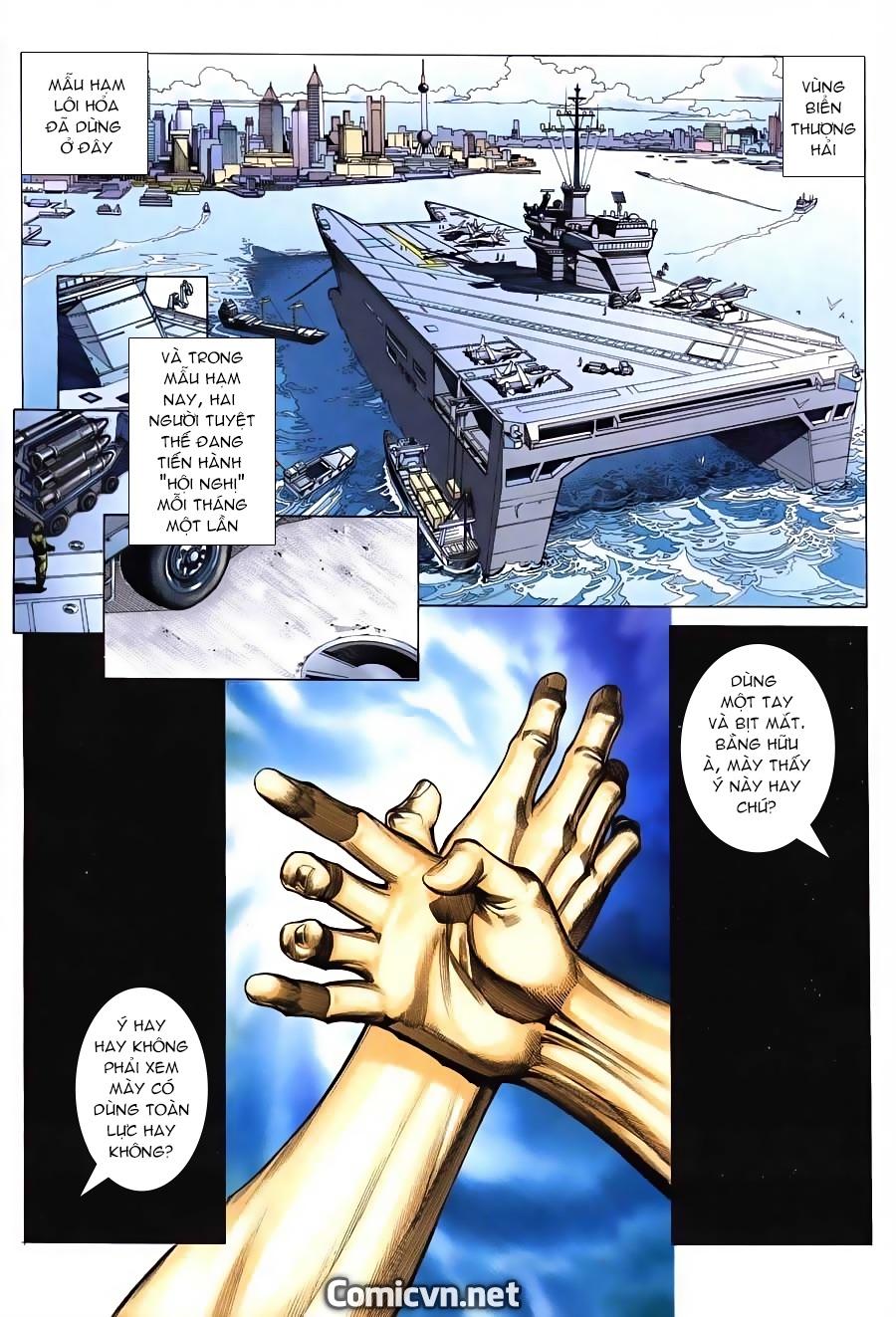 Xích Trụ Phạn Đường chap 12 - Trang 3