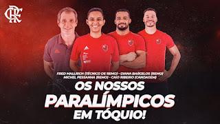 Flamengo nos Jogos Paralímpicos de 2020
