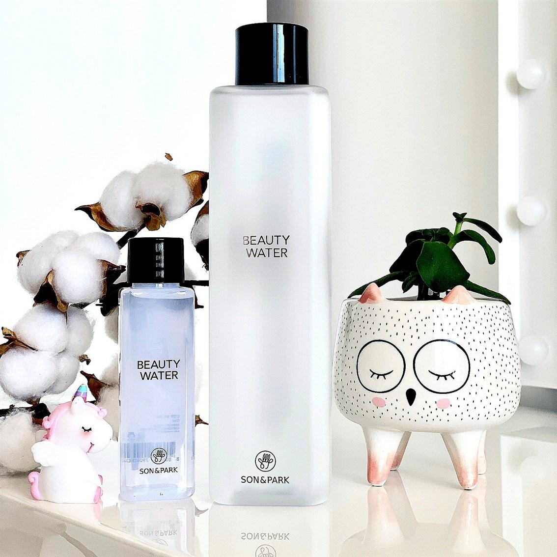 Son & Park Beauty Water recenzja opinie