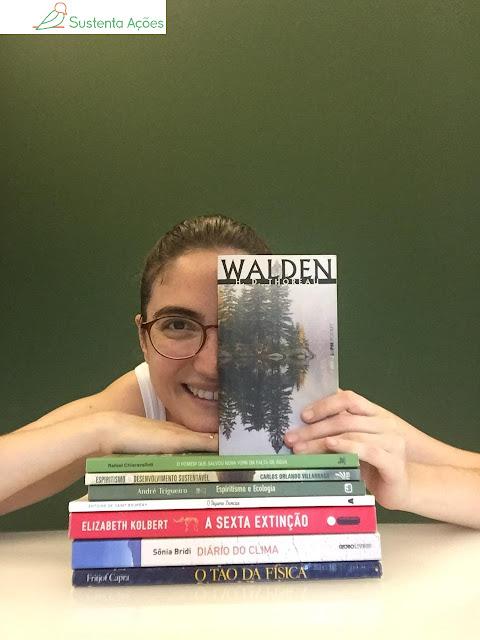 Livros com temática ambiental