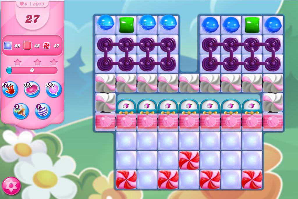 Candy Crush Saga level 8271