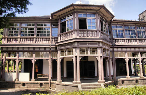 Ijinkan Foreigners mansion in Kagoshima