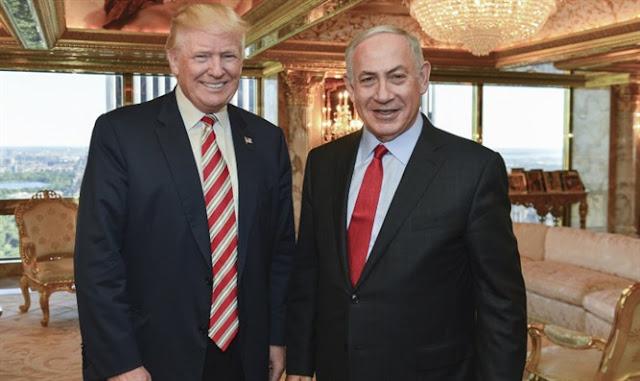Donald Trump invitó a Netanyahu a la Casa Blanca