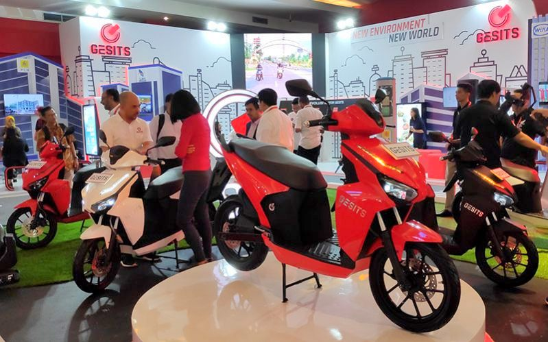 IIMS 2019 : PT Gesits Technologies Indo resmi merilis motor Listrik Gesits degan harga spesial !