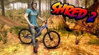 تحميل لعبة Shred! 2 Freeride Mountain Biking مهكرة كاملة للاندرويد