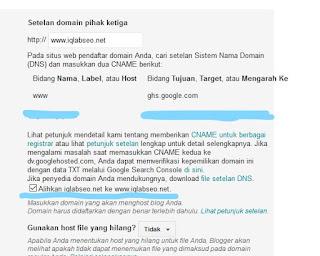 cara mengatasi domain tidak dapat di akses tanpa www