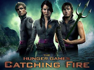 The Hunger Games Catching Fire (2013) Hindi English Telugu Tamil 480p