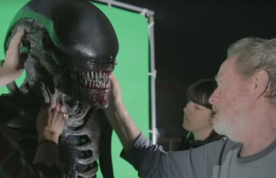 Alien Covenant detrás de las cámaras