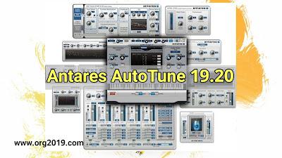 تحميل النسخة الكاملة 2019 من برنامج Antares AutoTune v8.1