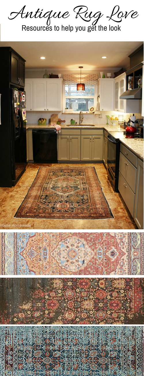 Get the look: Antique rug sources