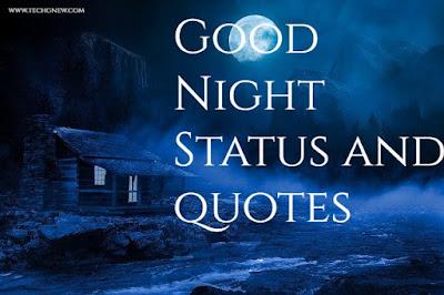 Good Night Status In Hindi | Good Night Quotes In Hindi