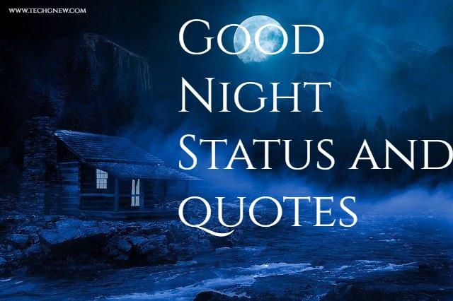 Good night status | Hindi status for Whatsapp