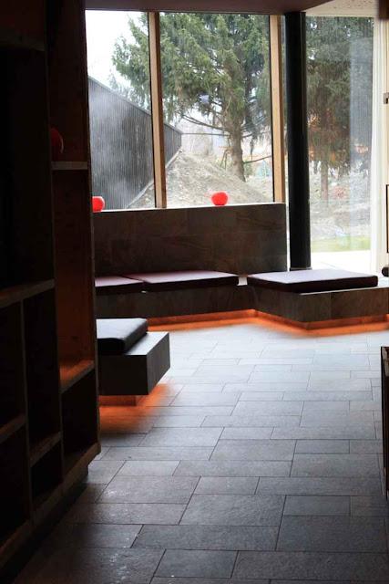 Eingang in den großzügigen Saunabereich © Copyright Monika Fuchs, TravelWorldOnline