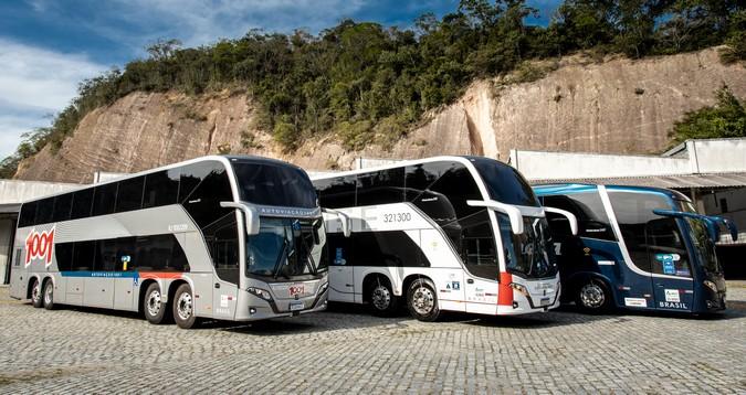 Confiante na retomada do transporte de passageiros, Grupo JCA adquire 159 ônibus Scania
