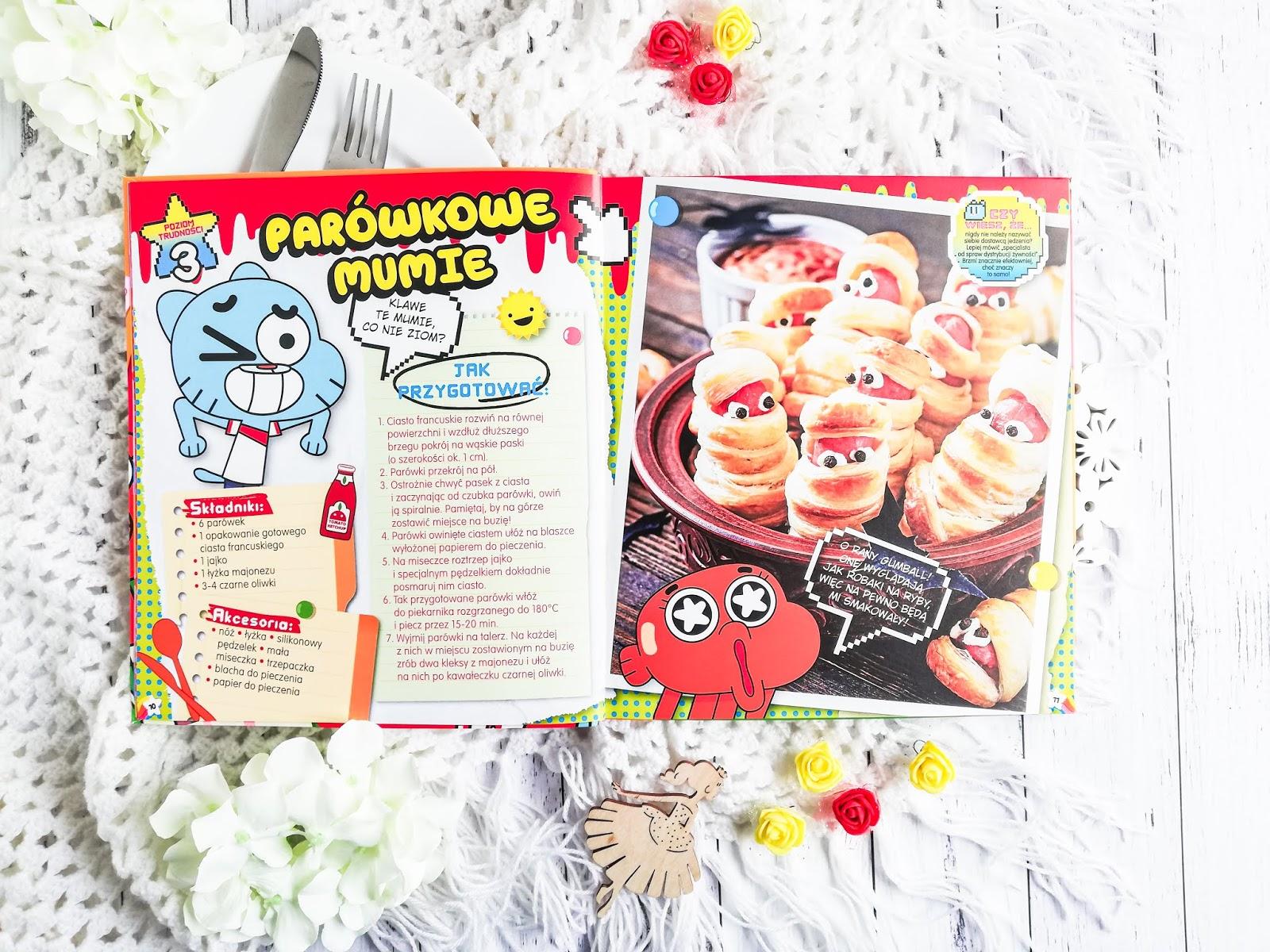książka kucharska dla dzieci, przepisy dla dzieci