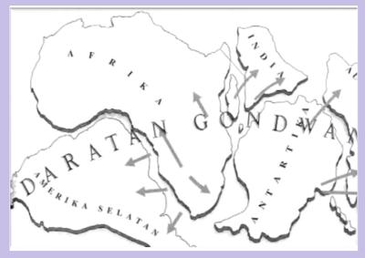 sejarah terbentuknya benua dan samudra