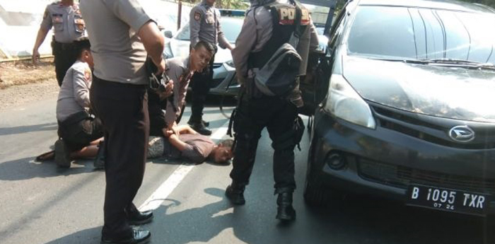 Polres Waykanan Amankan Empat Pelaku Penggelapan Mobil Dari Jakarta