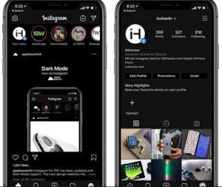 Cara Mengaktifkan Dark Mode Instagram