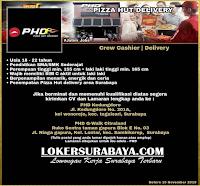 Bursa Kerja Surabaya Terbaru di Pizza Hut Delivery Nopember 2019
