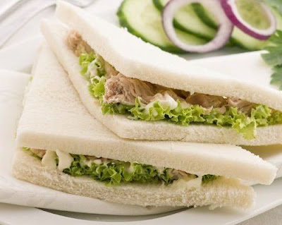 Resep Roti Sandwitch Vegetarian