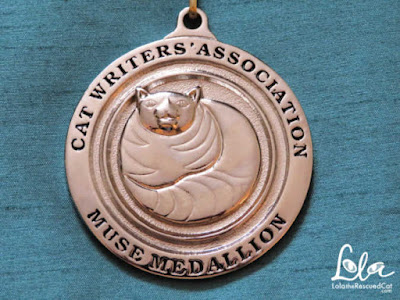 Cat Writers' Association|muse medallion