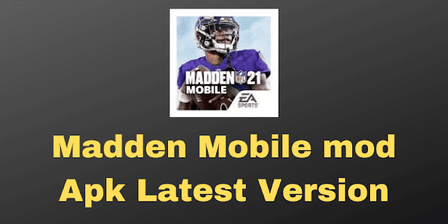 Madden Mobile mod Apk Latest Version