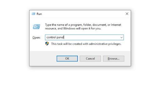 Fitur Run Di Windows 10