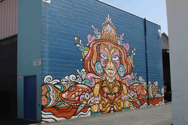 Manny Aloha Street Art In Kakaako Honolulu