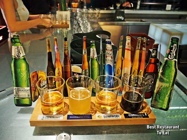 Carlsberg Brewery Shah Alam Beer Sampler