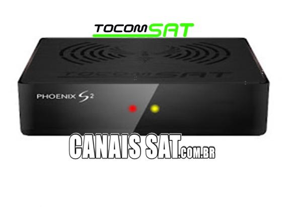 Tocomsat Phoenix S2 Atualização Modificada V1.11 - 22/05/2021