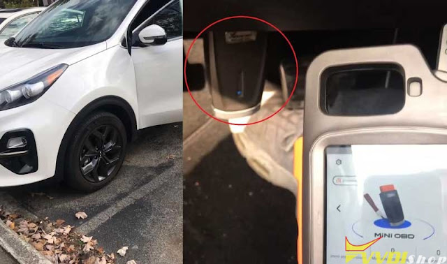 xhorse mini obd 2020 Kia Sportage Key 1